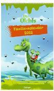 Cover-Bild zu Die Olchis Familienkalender Unser olchiges Jahr 2022 von Dietl, Erhard (Gestaltet)