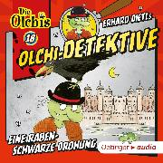 Cover-Bild zu Olchi-Detektive 18. Eine rabenschwarze Drohung (Audio Download) von Iland-Olschewski, Barbara