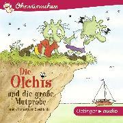 Cover-Bild zu Die Olchis und die große Mutprobe und eine weitere Geschichte (Audio Download) von Dietl, Erhard