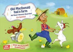 Cover-Bild zu Old MacDonald had a farm. Auf Bauer Hansens Bauernhof. Ein Spiellied von Russer, Margret (Illustr.)