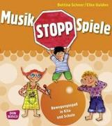 Cover-Bild zu Musikstopp-Spiele von Scheer, Bettina