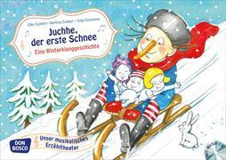 Cover-Bild zu Juchhe, der erste Schnee. Eine Winterklanggeschichte, m. Audio-CD von Gulden, Elke
