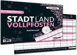 """Cover-Bild zu STADT LAND VOLLPFOSTEN® - GIRLS EDITION """"Mädchenrunde"""" von Barreto, Ricardo"""
