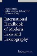 Cover-Bild zu Hanks, Patrick (Hrsg.): International Handbook of Modern Lexis and Lexicography (eBook)