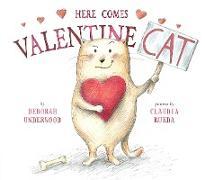 Cover-Bild zu Here Comes Valentine Cat von Underwood, Deborah