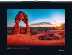 Cover-Bild zu KUNTH Verlag (Hrsg.): Farben der Erde 2022