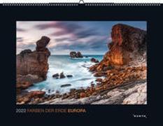 Cover-Bild zu KUNTH Verlag (Hrsg.): Farben der Erde Europa 2022