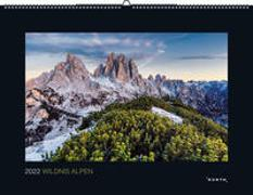 Cover-Bild zu KUNTH Verlag (Hrsg.): Wildnis Alpen 2022