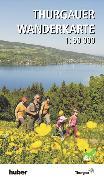 Cover-Bild zu Thurgauer Wanderkarte. 1:50'000