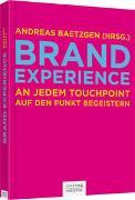 Cover-Bild zu Baetzgen, Andreas (Hrsg.): Brand Experience
