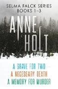 Cover-Bild zu Holt, Anne: Selma Falck Series Books 1-3 (eBook)