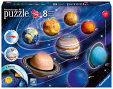 Cover-Bild zu Ravensburger 3D Puzzle Planetensystem 11668 - Planeten als 3D Puzzlebälle - Sonnensystem für Kinder