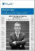 """Cover-Bild zu Hüther, Michael: """"Die Krise war groß genug für Reformen"""" (eBook)"""