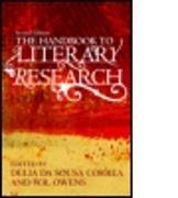 Cover-Bild zu da Sousa Correa, Delia (Hrsg.): The Handbook to Literary Research