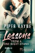 Cover-Bild zu Lessons from a One-Night-Stand (eBook) von Rayne, Piper