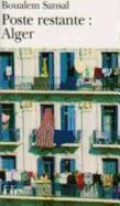 Cover-Bild zu Poste Restante: Alger von Sansal, Boualem