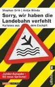 """Cover-Bild zu Orth, Stephan: """"Sorry, wir haben die Landebahn verfehlt"""" (eBook)"""