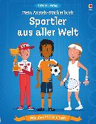 Cover-Bild zu Davies, Kate: Mein Anzieh-Stickerbuch: Sportler aus aller Welt