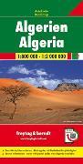 Cover-Bild zu Freytag-Berndt und Artaria KG (Hrsg.): Algerien, Autokarte 1:800.000-1:2.000.000. 1:800'000