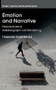 Cover-Bild zu Emotion and Narrative von Habermas, Tilmann