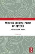 Cover-Bild zu eBook Modern Chinese Parts of Speech