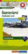 Cover-Bild zu Hallwag Kümmerly+Frey AG (Hrsg.): Saanenland Adelboden-Lenk Nr. 05 Touren-Wanderkarte 1:50 000. 1:50'000