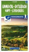 Cover-Bild zu Hallwag Kümmerly+Frey AG (Hrsg.): Emmental - Entlebuch Napf - Sörenberg Nr. 19 Wanderkarte 1:40 000. 1:40'000