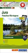 Cover-Bild zu Hallwag Kümmerly+Frey AG (Hrsg.): Jura Franches-Montagnes Nr. 15 Touren-Wanderkarte 1:50 000. 1:50'000