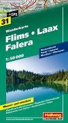 Cover-Bild zu Hallwag Kümmerly+Frey AG (Hrsg.): Flims-Laax-Falera Wanderkarte Nr. 31, 1:50 000. 1:50'000