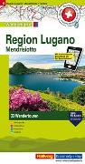 Cover-Bild zu Hallwag Kümmerly+Frey AG (Hrsg.): Region Lugano, Lago Maggiore, Mendrisiotto Nr. 08 Touren-Wanderkarte 1:50 000. 1:50'000