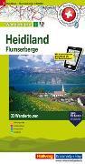 Cover-Bild zu Hallwag Kümmerly+Frey AG (Hrsg.): Heidiland, Flumserberg Nr. 03 Touren-Wanderkarte 1:50 000. 1:50'000