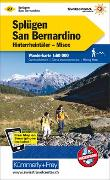 Cover-Bild zu Hallwag Kümmerly+Frey AG (Hrsg.): Splügen - San Bernardino Nr. 27 Wanderkarte 1:60 000. 1:60'000