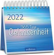 Cover-Bild zu Miniwochenkalender 365 Tage Gelassenheit 2022