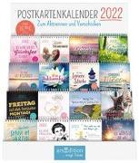 Cover-Bild zu Display Postkartenkalender 2022. Mit 16 x 3 Ex