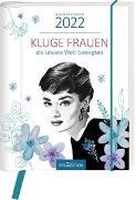 Cover-Bild zu Buchkalender Kluge Frauen 2022