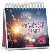 Cover-Bild zu Postkartenkalender Ich wünsch dir was 2022
