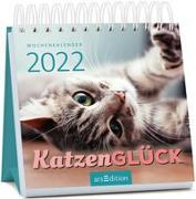 Cover-Bild zu Miniwochenkalender Katzenglück 2022