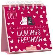Cover-Bild zu Minikalender Du bist meine liebste Lieblingsfreundin 2022