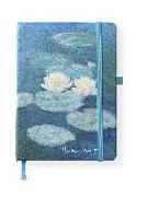 Cover-Bild zu Monet, Claude: Monet 16x22 cm - Blankbook - 192 blanko Seiten - Hardcover - gebunden