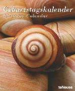 Cover-Bild zu teNeues Calendars & Stationery GmbH & Co. KG: Shells & Stones Geburtstagskalender