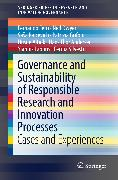 Cover-Bild zu Governance and Sustainability of Responsible Research and Innovation Processes (eBook) von Silvestri, Cecilia
