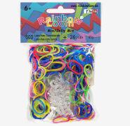 Cover-Bild zu Rainbow Loom Gummibänder Mix Jelly