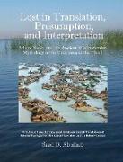 Cover-Bild zu Lost in Translation, Presumption, and Interpretation von Abulhab, Saad D
