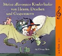 Cover-Bild zu Meine allerersten Kinderlieder von Hexen, Drachen und Gespenstern von Geiling, Toni (Gespielt)