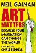 Cover-Bild zu Art Matters von Gaiman, Neil