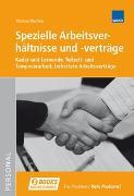Cover-Bild zu Spezielle Arbeitsverhältnisse und -verträge