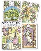 Cover-Bild zu Art Nouveau Lenormand Oracle von Weatherstone, Lunaea