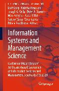 Cover-Bild zu Misra, Sanjay (Hrsg.): Information Systems and Management Science (eBook)