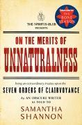 Cover-Bild zu On the Merits of Unnaturalness (eBook) von Shannon, Samantha