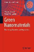 Cover-Bild zu Green Nanomaterials (eBook) von Ahmed, Shakeel (Hrsg.)
